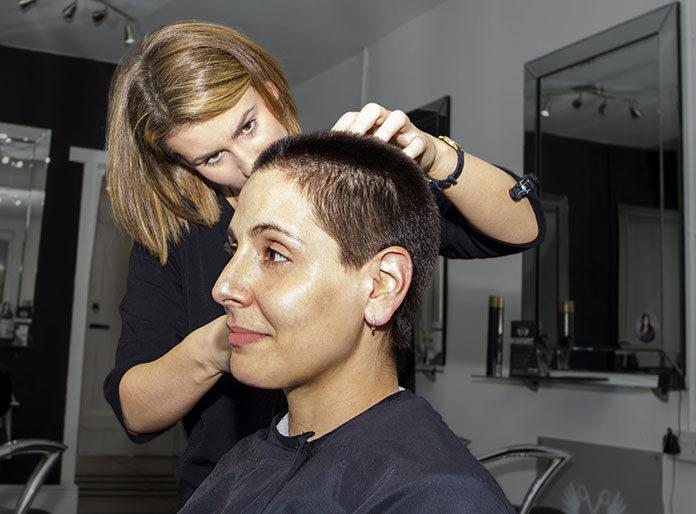 wizycie u fryzjera
